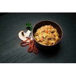 Obědové menu - Dušené hovězí s rýží