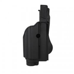 Taktické pouzdro na Glock se svítilnou